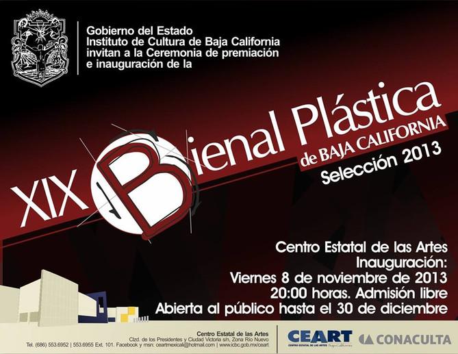 XIX Bienal Plástica de Baja California