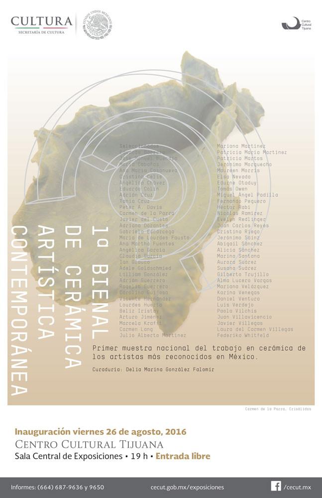 1ra Bienal de cerámica artística contemporánea