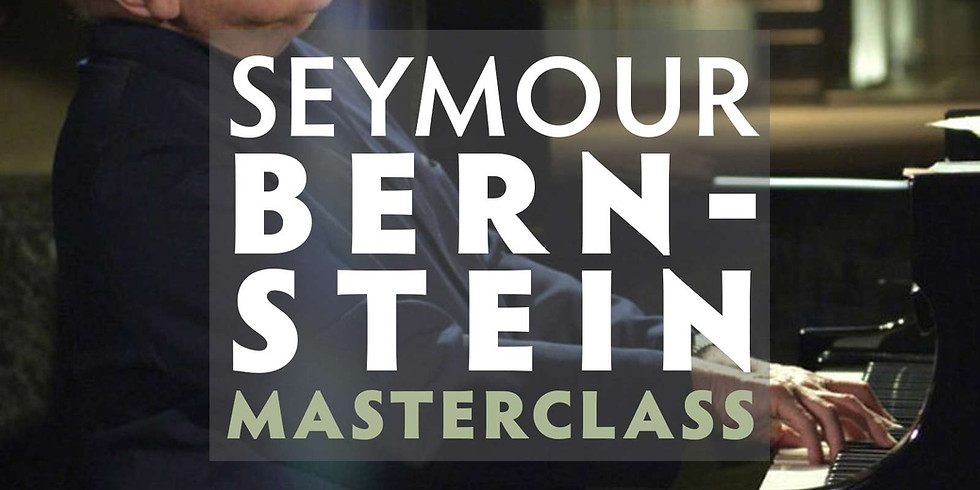 Masterclass with a Master - Seymour Bernstein