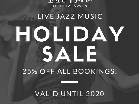Need a Jazz Band for the Holidays?