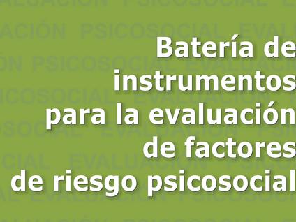 Mejoras en reporte riesgo psicosocial de la Batería del Ministerio de Trabajo Colombiano
