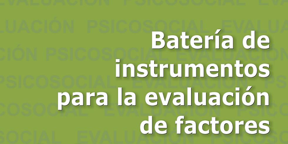 Batería de instrumentos para evaluar riesgo psicosocial del Ministerio del Trabajo
