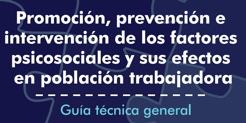 Guías para la intervención de los riesgos psicosociales laborales y sus efectos del Ministerio de Trabajo Colombiano