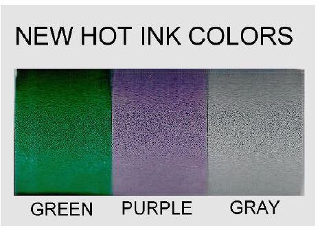 New colors available immediately-not offered by competitors.