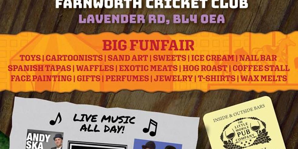 Farnworth's big day