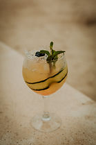 Cocktail Armagnac limonade