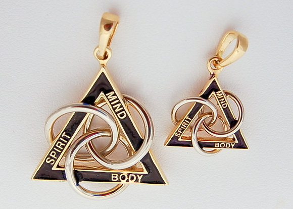 MBS Trinity Pendant (click 4 details) #308