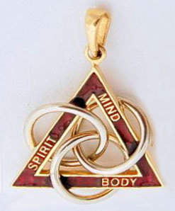 MBS Trinity Pendant (click 4 details) #307