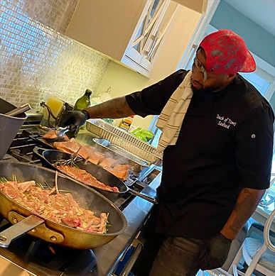 Shakeem Brown, Owner of Touch of Toms