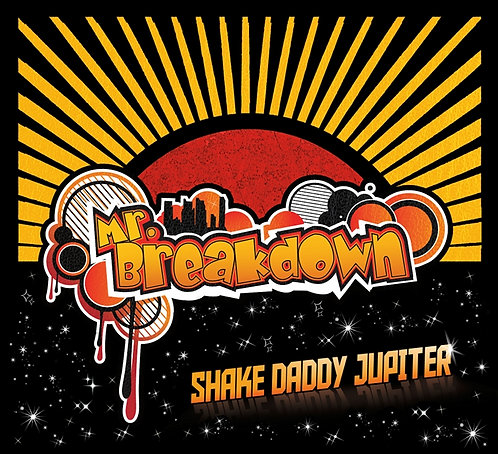 CD: Shake Daddy Jupiter (Physical Copy)