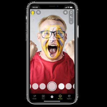 LUFC Snapchat Filter