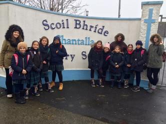 Primer día de colegio en Irlanda
