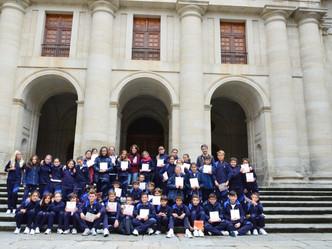 5º de Primaria en el Palacio Real