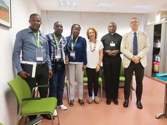 Una delegación de profesores de Angola visita nuestro Colegio