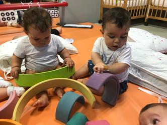 Los más pequeños del Colegio comienzan a trabajar con la metodología Montessori