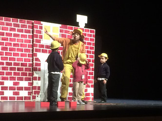 Infantil off to the theatre!