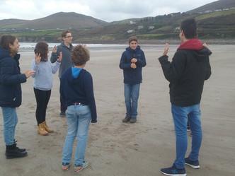 Primera semana en Irlanda para los alumnos que participan en FWE