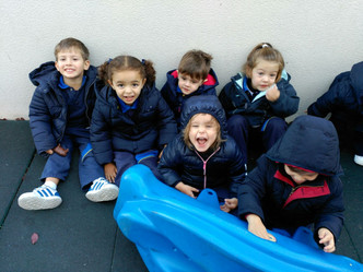 El patio en la Escuela Infantil