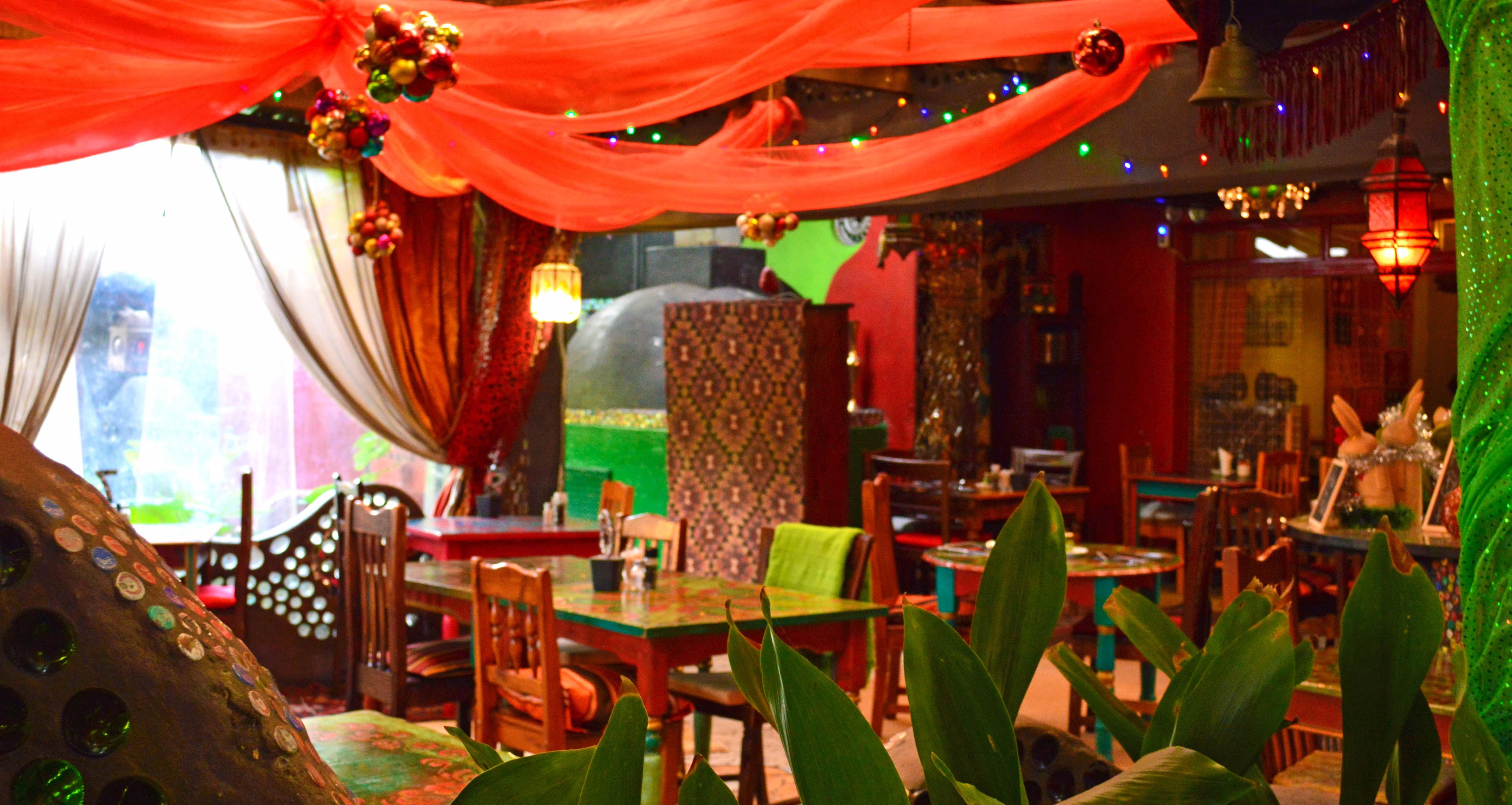 RH Christmas restaurant