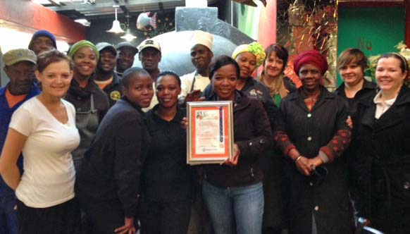 West Rand Tourism award