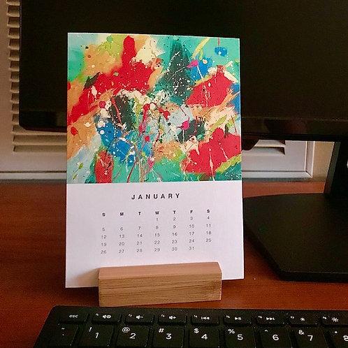 2021 Easel Desk Calendar