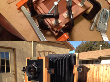 BENDER 4X5: Building a View Camera