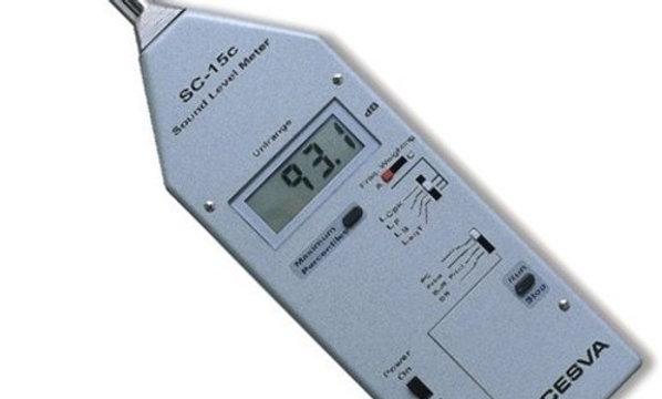 Schallpegelmessgerät CESVA SC-15c