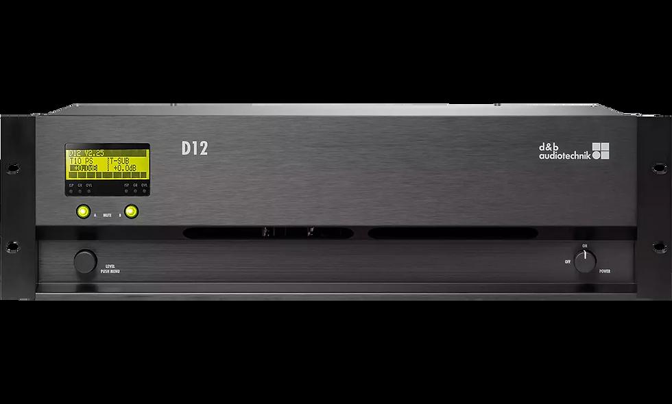 D&B D12 Verstärker