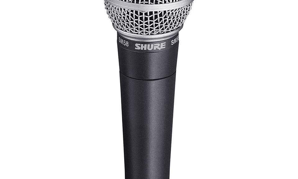 SHURE SM-58 (Bühnenmikrofon)