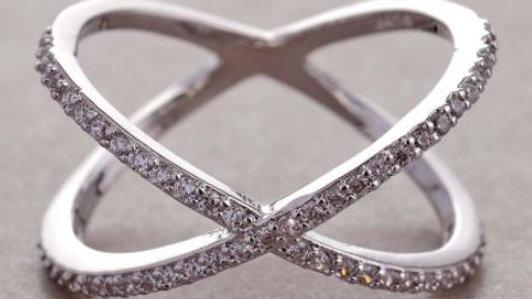 X Cut Ring