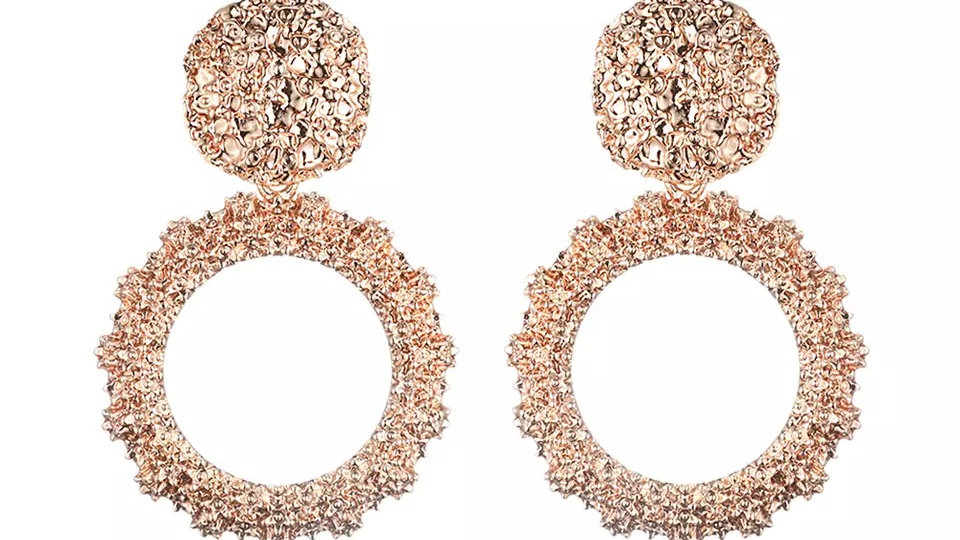 Coco Earrings Rose Gold