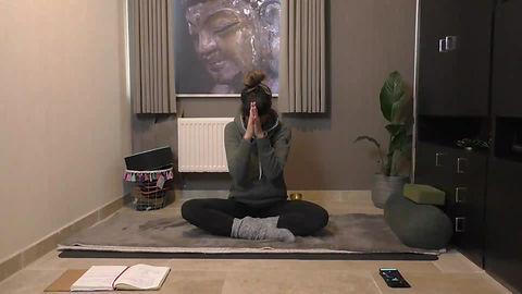 Yin yoga voel je licht