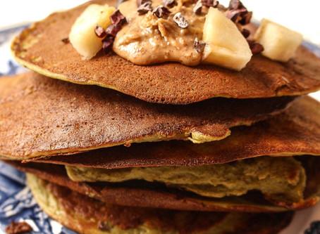 Paleo Protein Pancakes (GF/DF/SF)