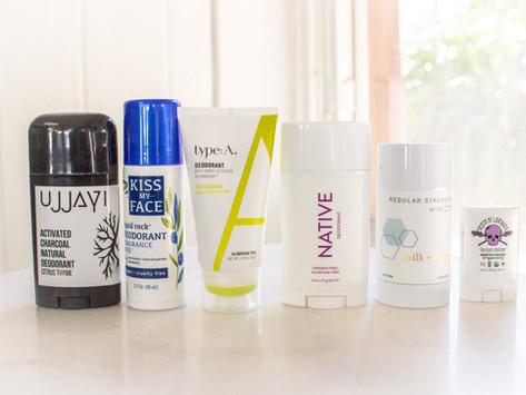 Non-Toxic and Cruelty-Free Deodorant Line-Up