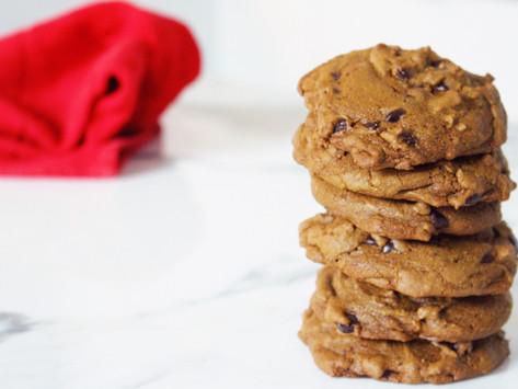 Matcha Chocolate Chip Cookies (V)