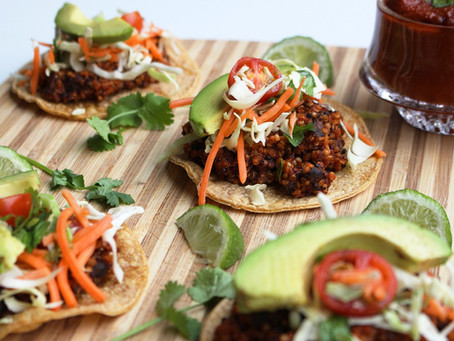 Protein Packed Tacos (V/GF/SF)