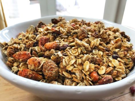 Allergen Friendly Toasted Granola (GF/V)