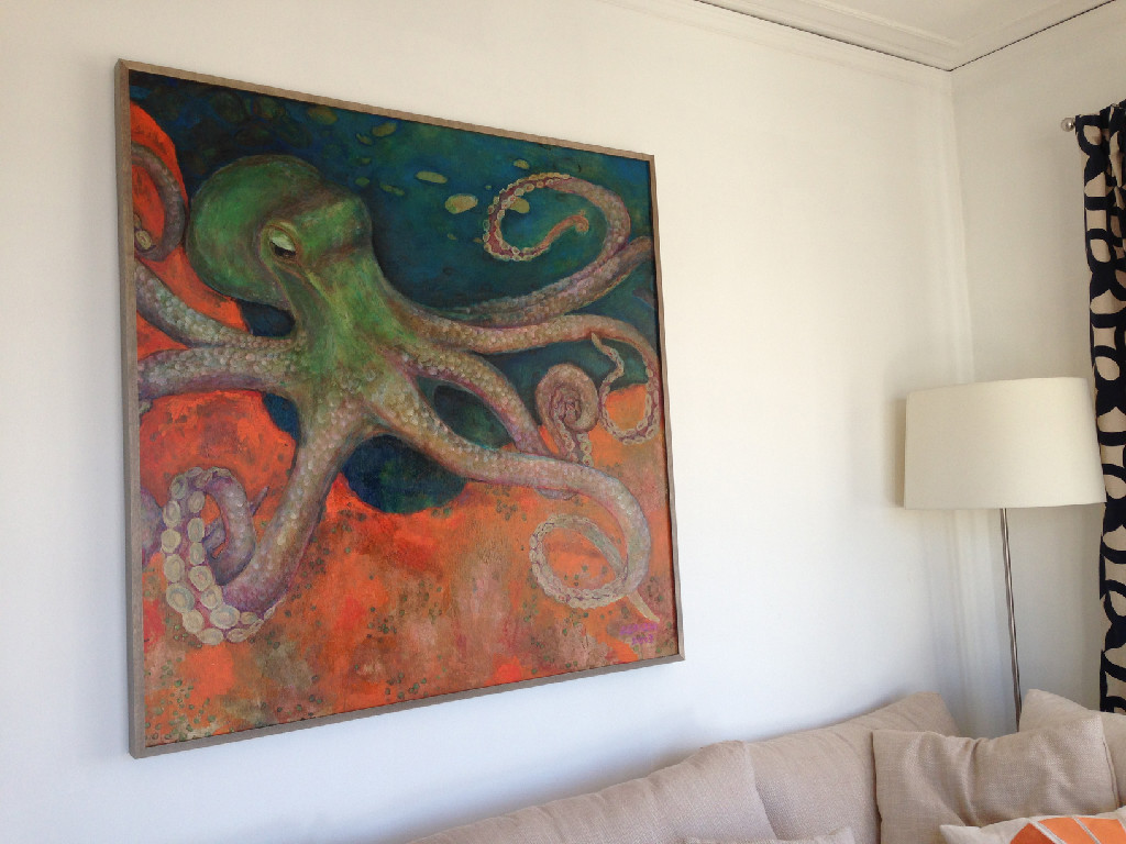 Commissioned Octopus