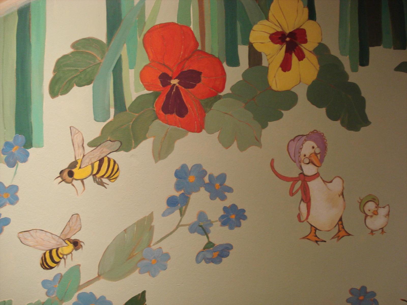 Toddler's room - detail