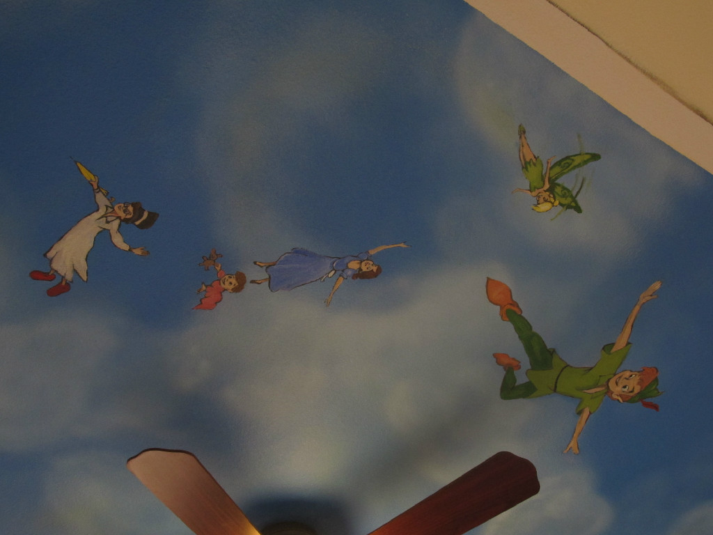 Peter Pan - ceiling detail