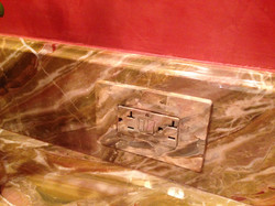 marble switchplate