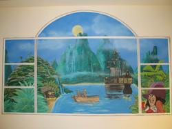 Peter Pan - faux window