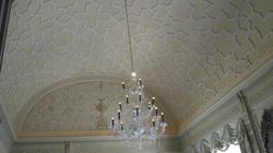 glaze barrel ceiling - after