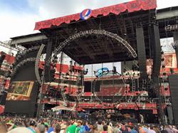 2015 Grateful Dead concert backdrop