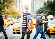 Kerenza Peacock in New York