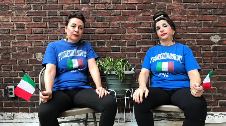 Patty and Patty the hit comedy web series about two middle aged Italian American Broads living in Hell's Kitchen NYC.  Where ya gonna go? Whatya gonna do? Over 3M viewers on Facebook.