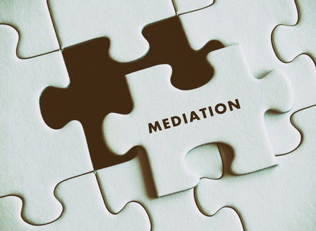 The Anatomy of a Mediation...