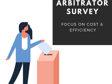 Arbitration Savings & Efficiency:  AAA Arbitrator Survey Results