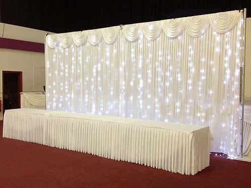 Twinkling LED Backdrop Deposit