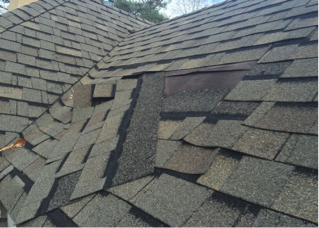 Lifting or Shingle Loss